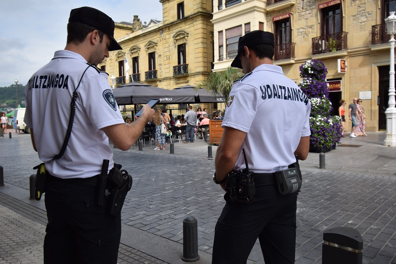 Guardia Municipal. Imagen de archivo.