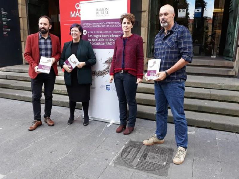 Presentación del libro. Foto: Diputación