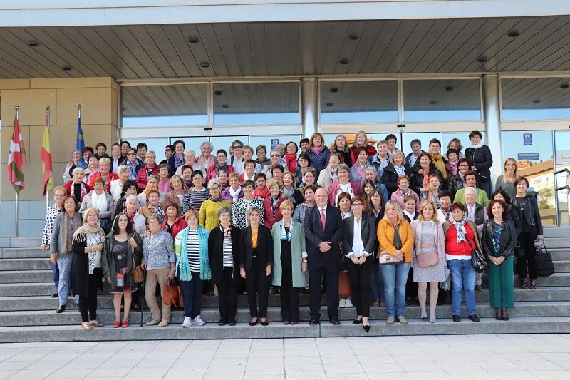 Celebración del Día Internacional de la Mujer Rural ayer en Lakua. Foto: Gobierno vasco