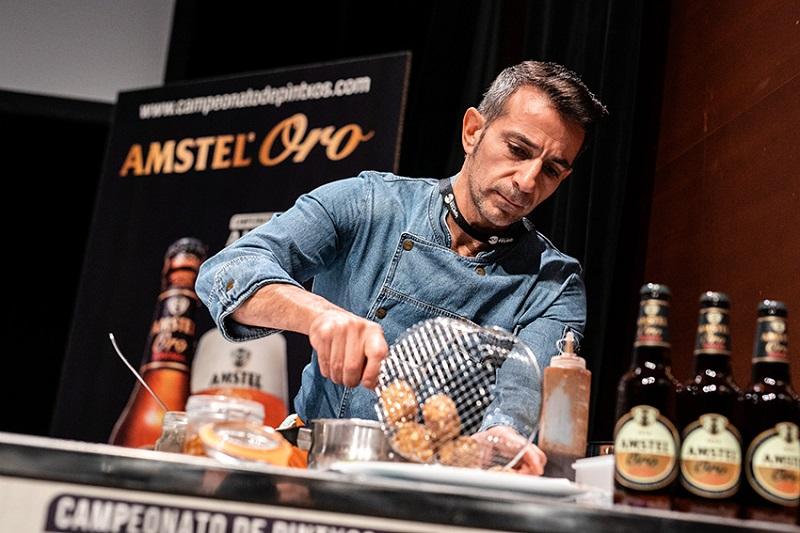 Hoy se disputará la final del certamen de pintxos Amstel Oro.