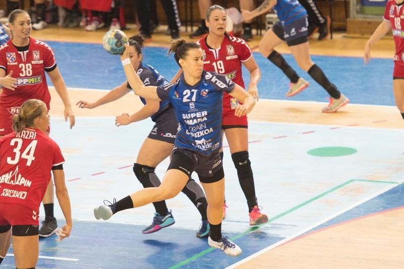 El Bera Bera se clasificó para la fase de grupos de la Copa EHF. Foto: Super Amara Bera Bera.