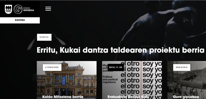 Imagen de la web de la Diputación.