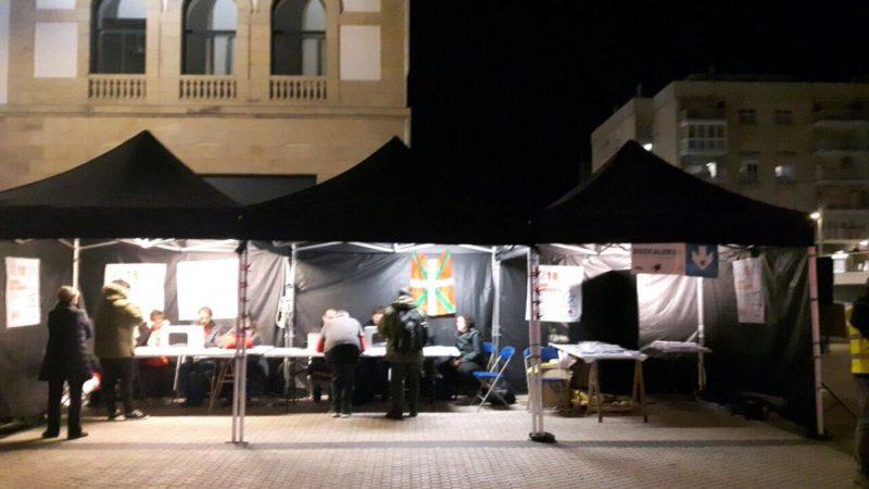 Últimas horas de votación en Egia. Foto: Gure Esku Dago