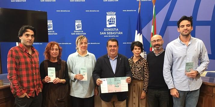 Presentación de la guía 'Art in Donostia'. Foto: San Sebastián Turismo & Convention Bureau.