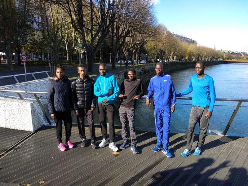 Los favoritos en la Zurich Donostiako Maratoia del domingo.