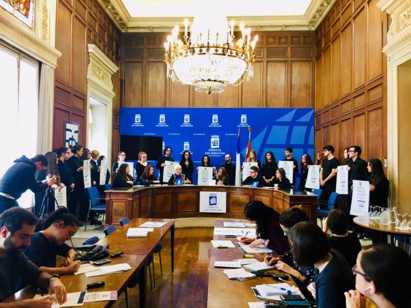 Presentación de la jornada en el Ayuntamiento. Foto: Ayto.