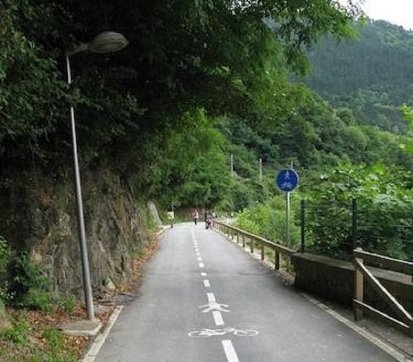 Actual bidegorri Elgoibar-Maltzaga. Foto: turismoespana.es.