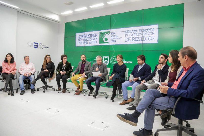 Presentación de la semana. Foto: Diputación