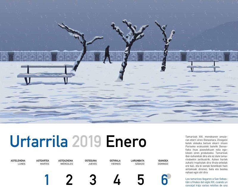 Calendario Laboral Donostia 2019.El Calendario Donostiarra De 2019 Se Reparte Desde Manana En