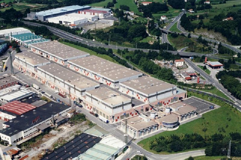 Polígono industrial de Gabiria, en Irun. Foto: Sprilur.
