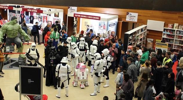 II Salón del Cómic y el Manga de Donostia. Foto: Kursaal.