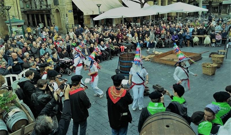 Celebración del V. Sagardo Apurua. Fotos: David San Martín.