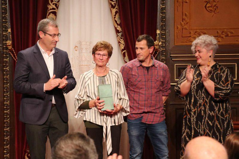Entrega del premio. Foto: Diputación
