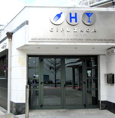 Asociación de Empresarios de la  Hostelería de Gipuzkoa. Foto: DonostiTik