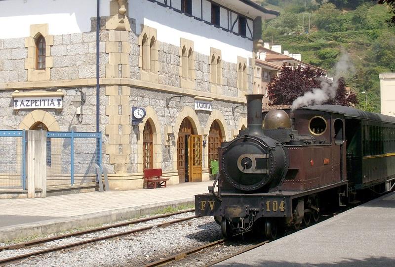 Museo Vasco del Ferrocarril. Foto: Euskotren.