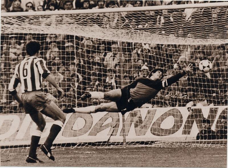 Luis Miguel Arconada, leyenda máxima de la Real Sociedad. Foto: Korner.