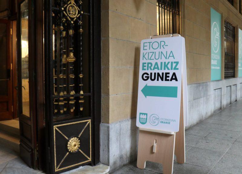 Gunea, sede del programa Etorkizuna Eraikiz.