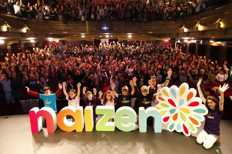 Fiesta de presentación de Naizen en el Teatro Principal. Foto: Naizen