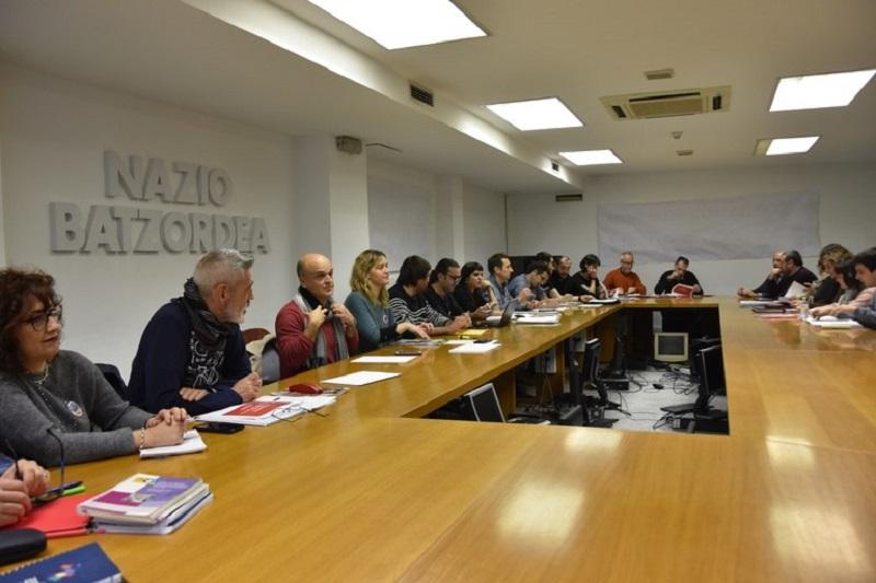 Imagen del encuentro. Foto: ELA