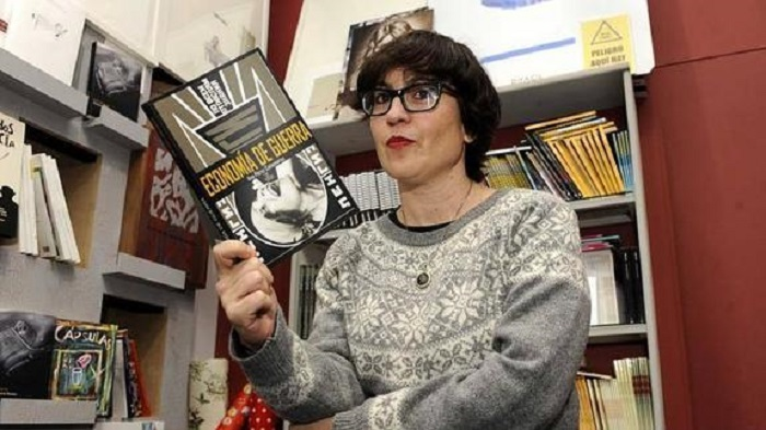 Ana Pérez Cañamares, protagonista de hoy en Poetika. Foto: La Tribu.