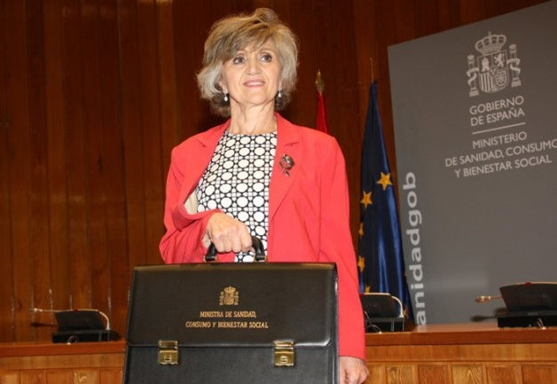 María Luisa Carcedo, ministra de Sanidad. Foto: Moncloa.
