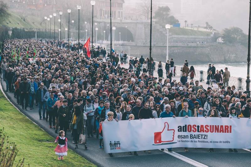 Manifestación del 23 de febrero. Foto: Santiago Farizano
