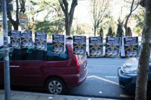 DSCF1578 300x200 - Primera jornada de huelga en los supermercados DIA de Gipuzkoa y Bizkaia