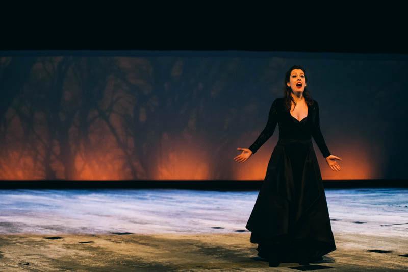 Representación de la ópera 'La flauta mágica' con Opus Lirica. Foto: Santiago Farizano