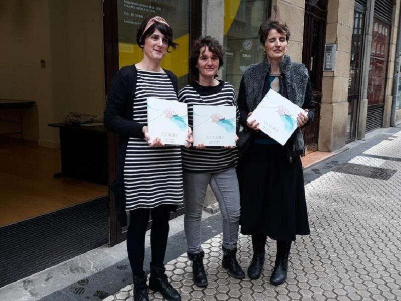 Presentación del álbum ilustrado 'Itsas kulunka'. Foto: Diputación.