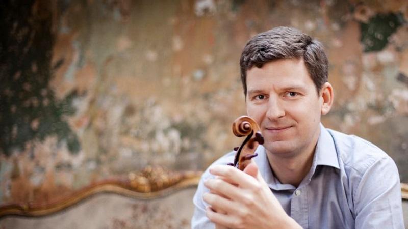 El violinista James Ehnes, uno de los grandes. Foto: OSE