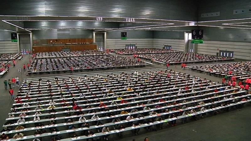 OPE de la Ertzaintza en el BEC. Foto: Gobierno vasco