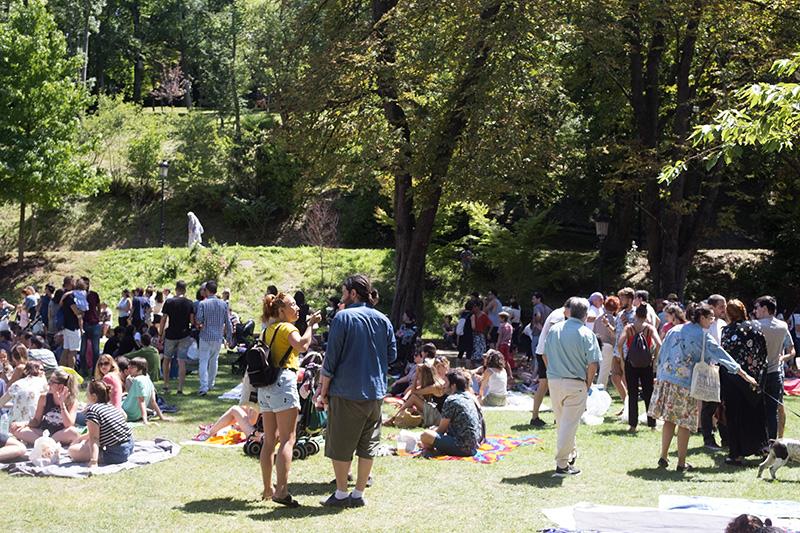 Imagen de Cristina Enea en un festival el pasado verano. Foto: Santiago Farizano