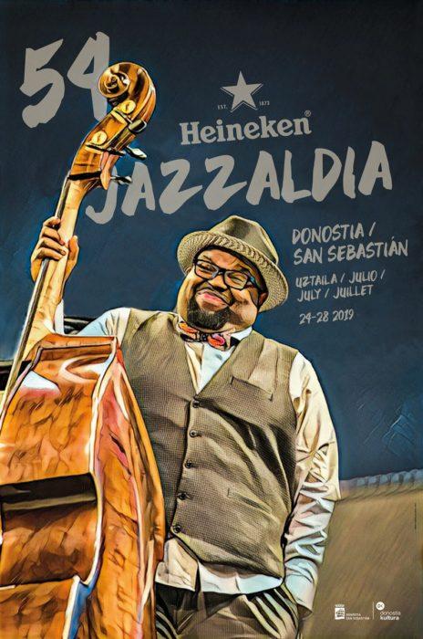 Cartel de la edición número 54 del Jazzaldia. Foto: Heineken Jazzaldia.