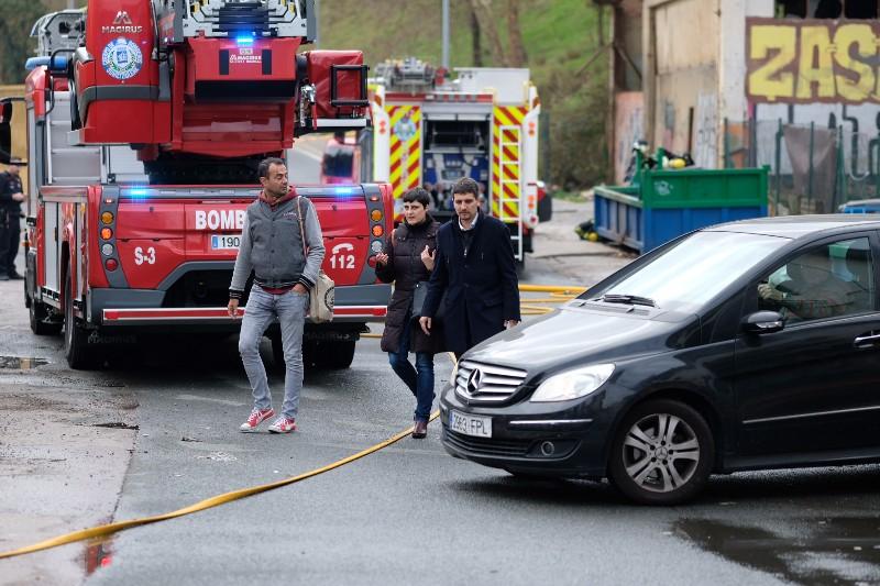 Incendio en el Infierno. Foto: Santiago Farizano
