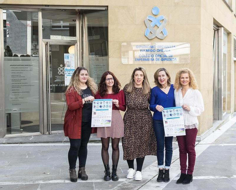 Cristina Campo, Ainhoa Ruiz de Angulo, Raquel Ule, Gemma Estévez y Rosa María Rodríguez.