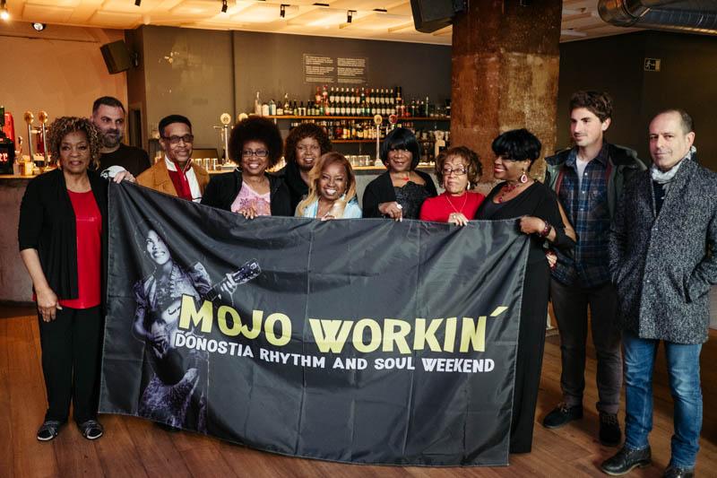 Presentación del Mojo Workin' 2019 en Dabadaba. Fotos: Santiago Farizano