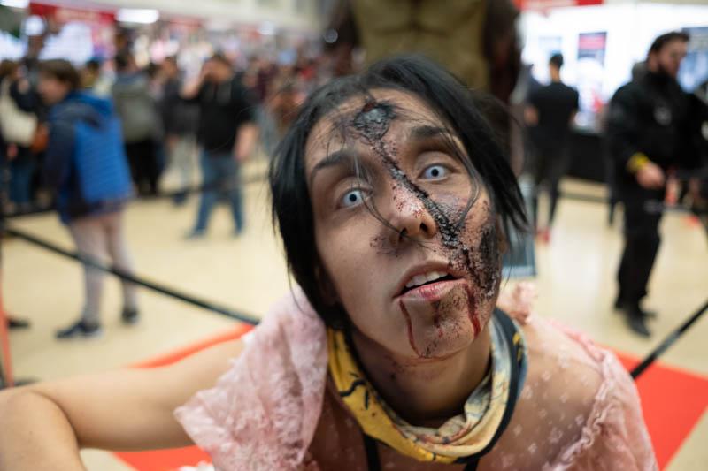 Zombies en el Salón Internacional del Cómic y Manga de Donostia. Fotos: Santiago Farizano
