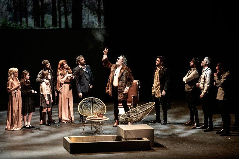 Macbeth. Foto: Teatro Arriaga (E. Moreno Esquibel)