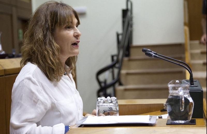 La parlamentaria Nerea Kortajarena. Foto: EH Bildu