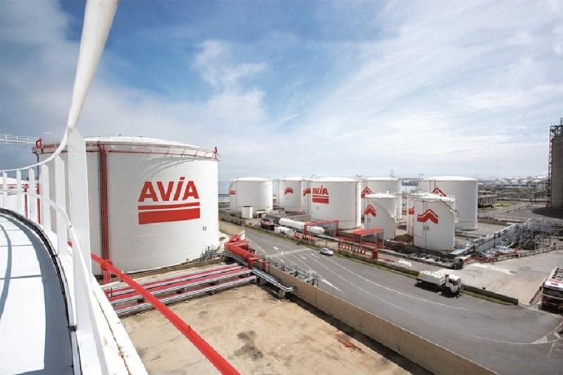 Esergui-AVIA es donostiarra, si bien su centro logístico está en el Puerto de Bilbao. Foto: prensa.aviaenergias.es.
