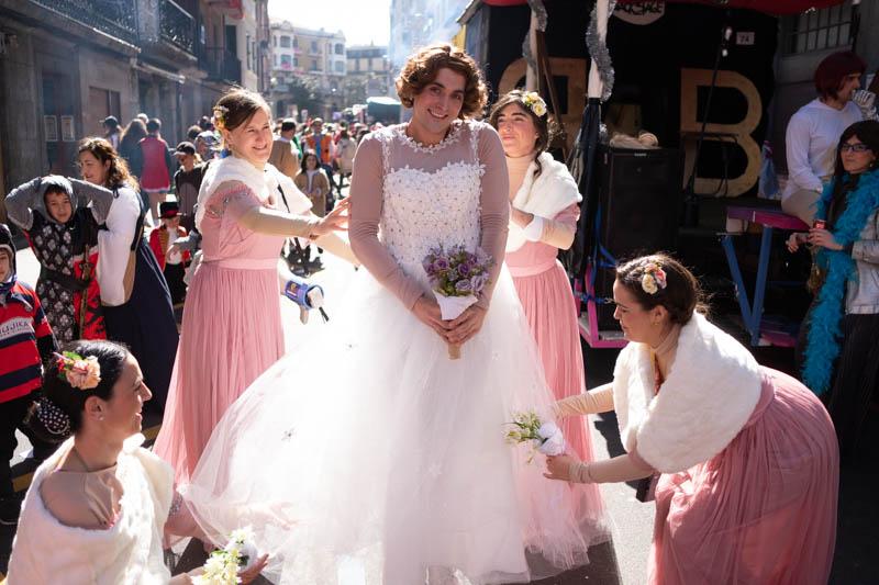 Martes en el Carnaval tolosarra 2019. Fotos: Santiago Farizano