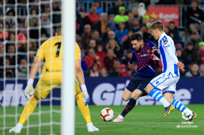 Barcelona-Real Sociedad. Foto: LaLiga.es