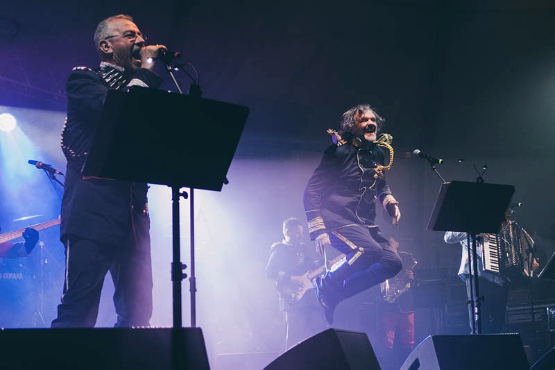 Concierto de Emir Kusturica en Expogrow. Fotos: Santiago Farizano