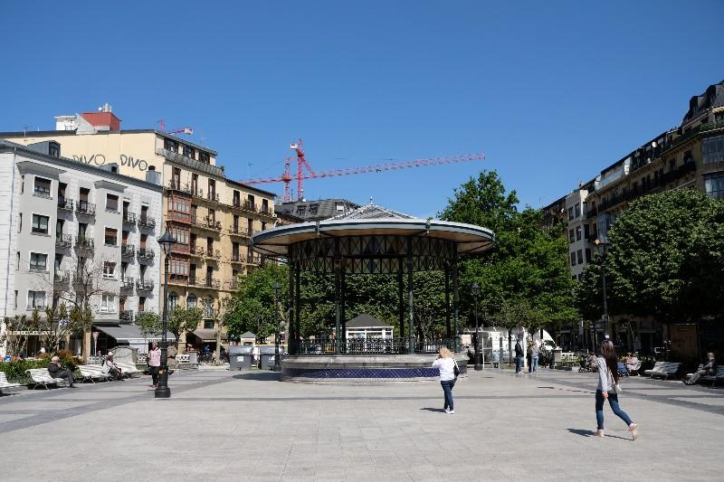 Plaza Easo. Foto: Santiago Farizano