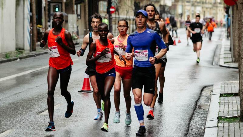 Media maratón en Donostia. Fotos: Santiago Farizano