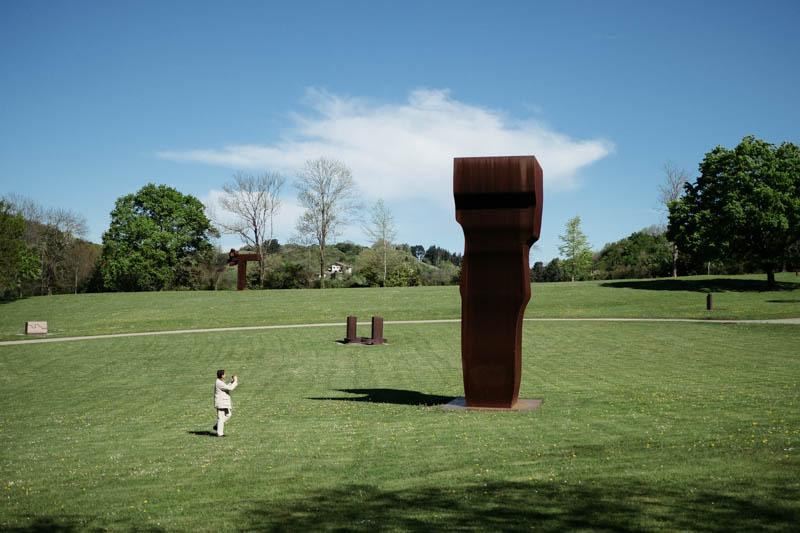 El museo Chillida Leku, listo para la reapertura oficial el 17. Fotos: Santiago Farizano