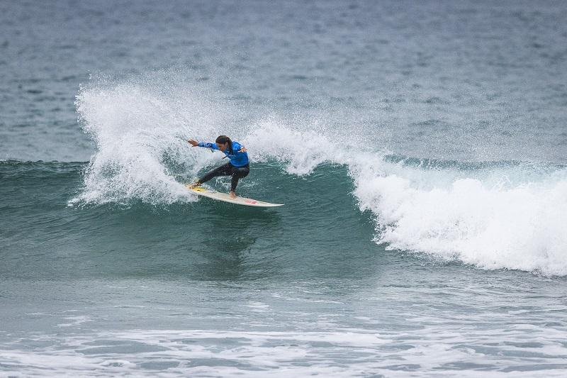 La surfista Garazi Sánchez. Foto: Pro Zarautz