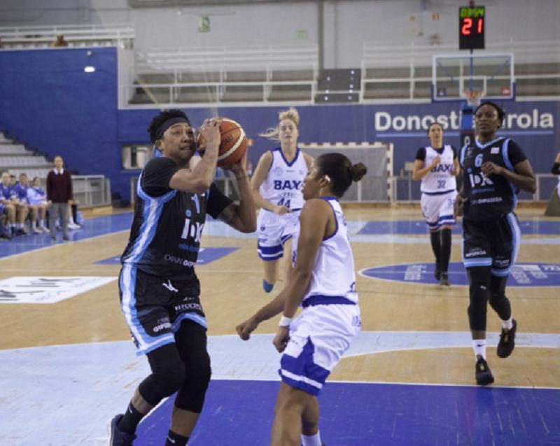 Lyndra Weaver, del IDK Gipuzkoa, ha sido la segunda jugadora de mayor valoración en la fase regular de la Liga DIA. Foto: Ibaeta Basket.