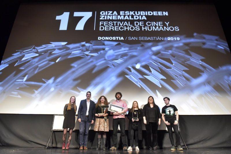 Imagen del palmarés del Festival de Cine y Derechos Humanos.