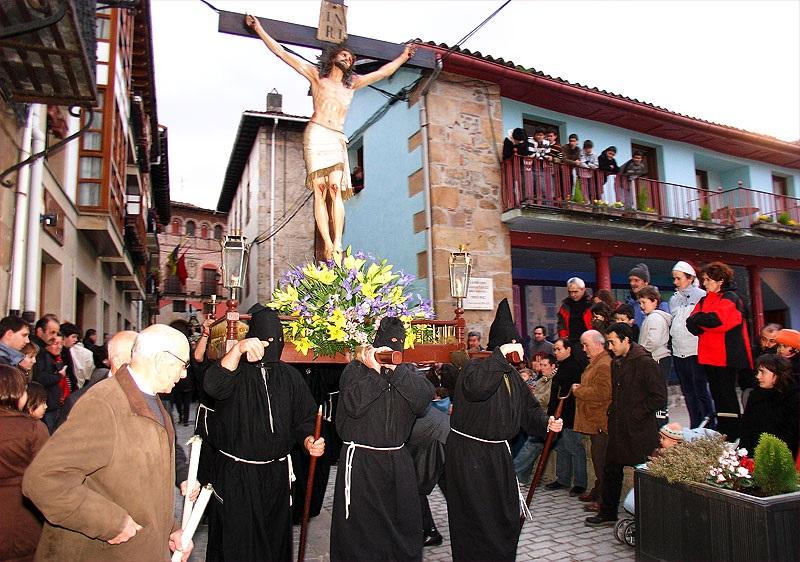 Semana Santa de Segura. Foto: Kulturweb.